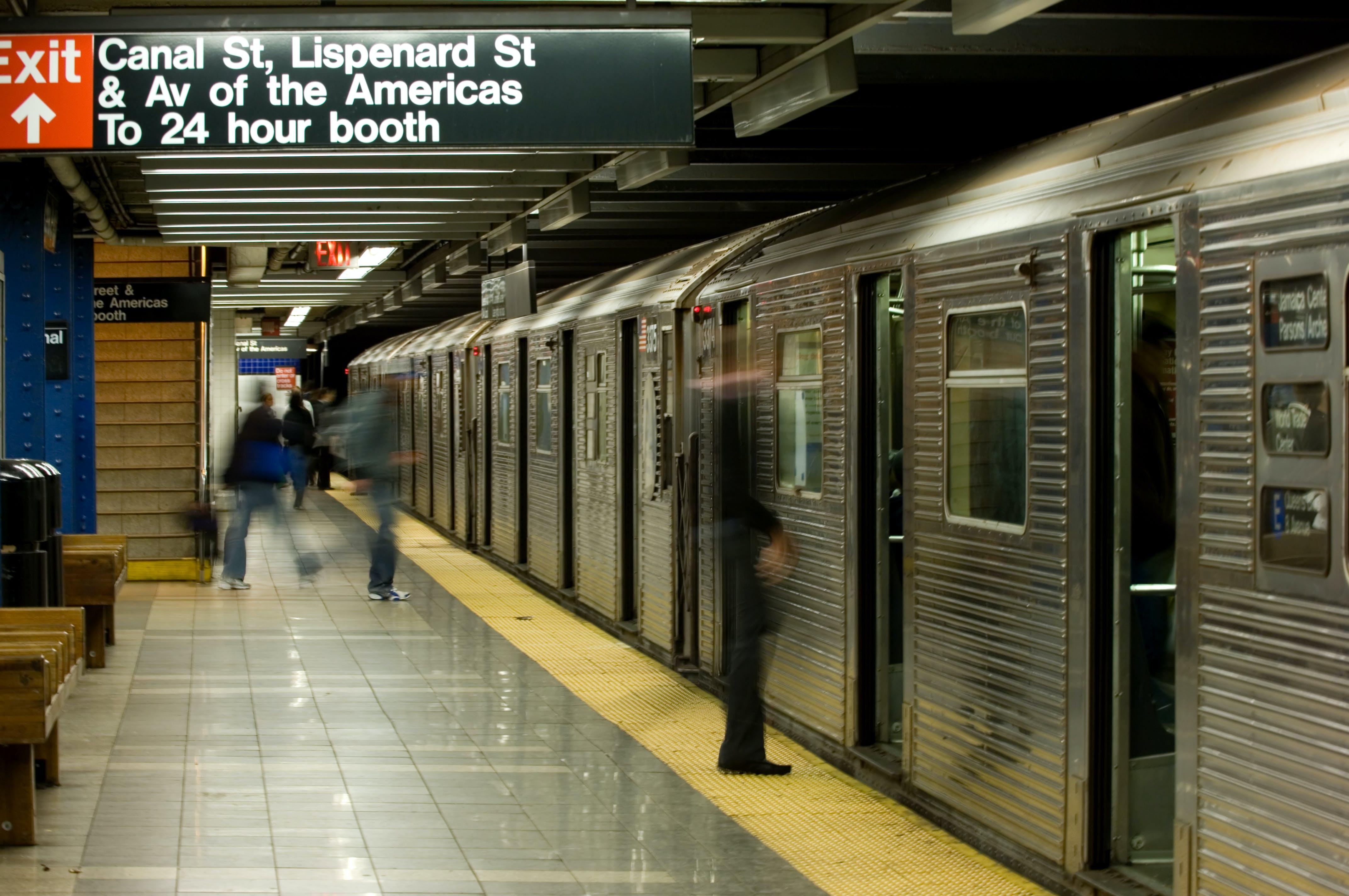 Zelfs een ritje in de metro is een heuse ervaring in New York