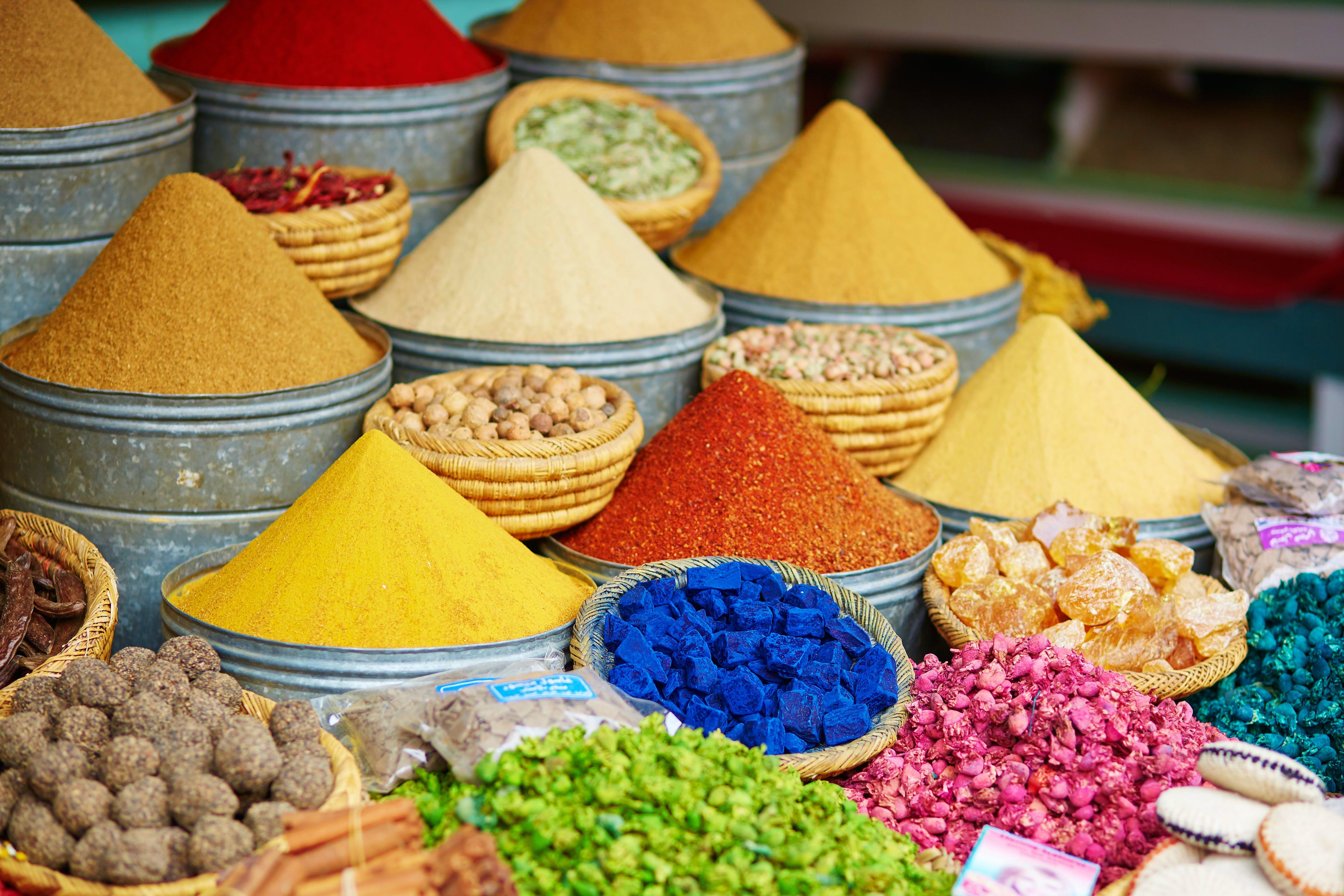 Ontdek de kleurrijkste specerijen