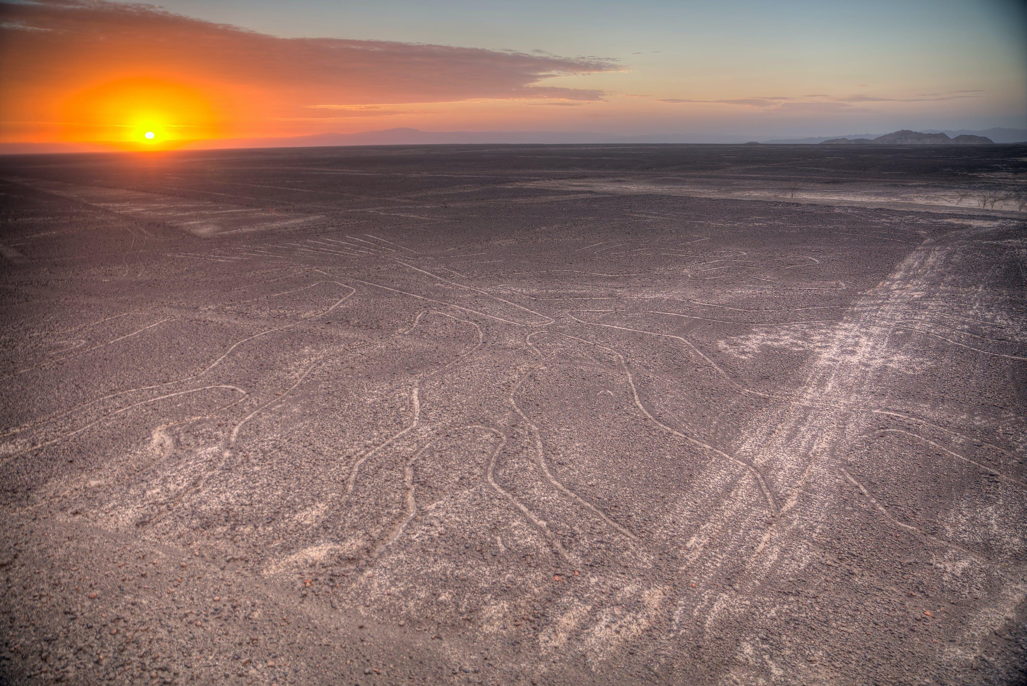 Nazca staat bekend om de wereldberoemde Nazcalijnen