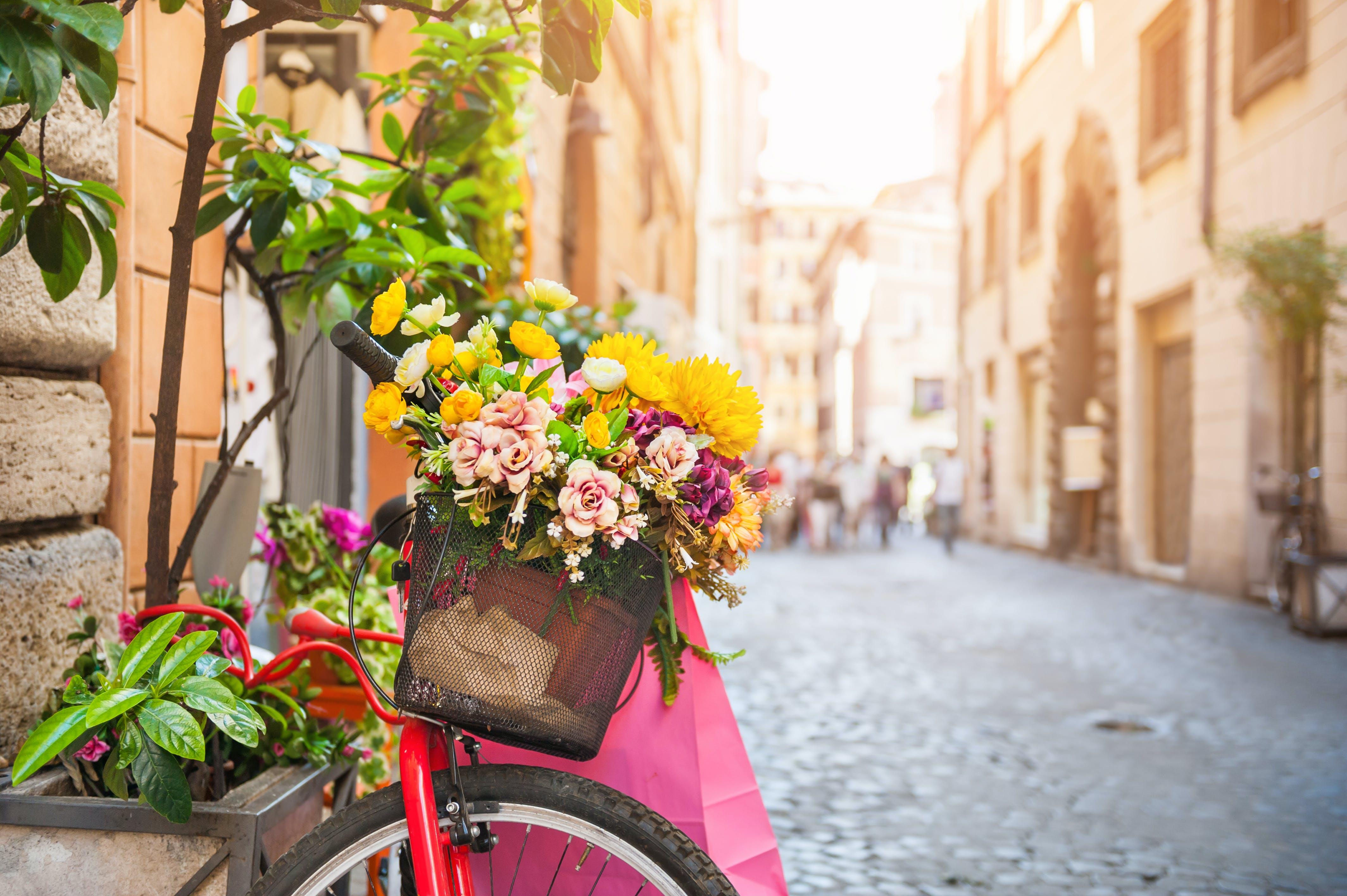 Wandel door de pittoreske straatjes van Rome
