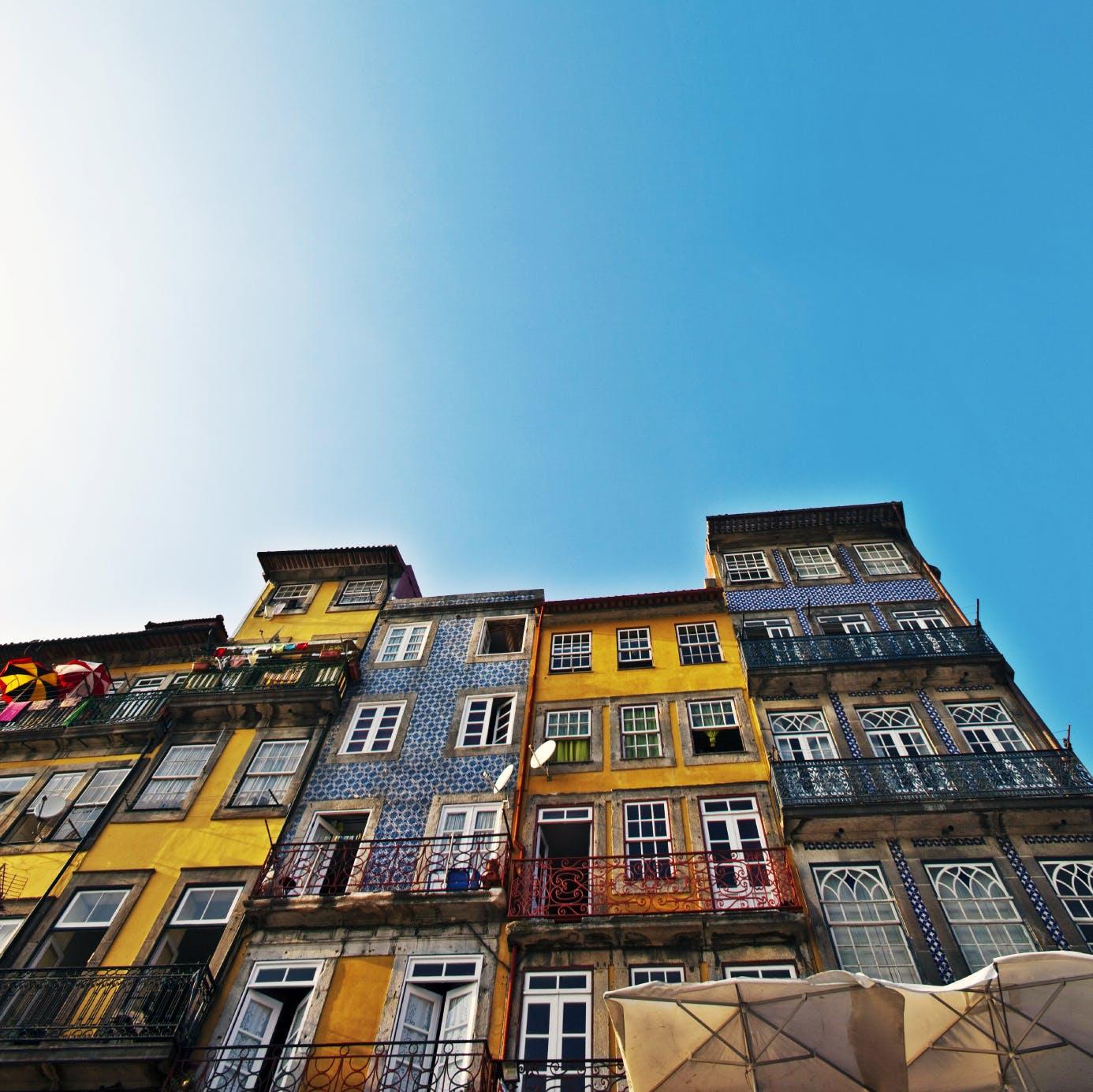 De kleurrijke gebouwen leveren sowieso leuke foto's op!