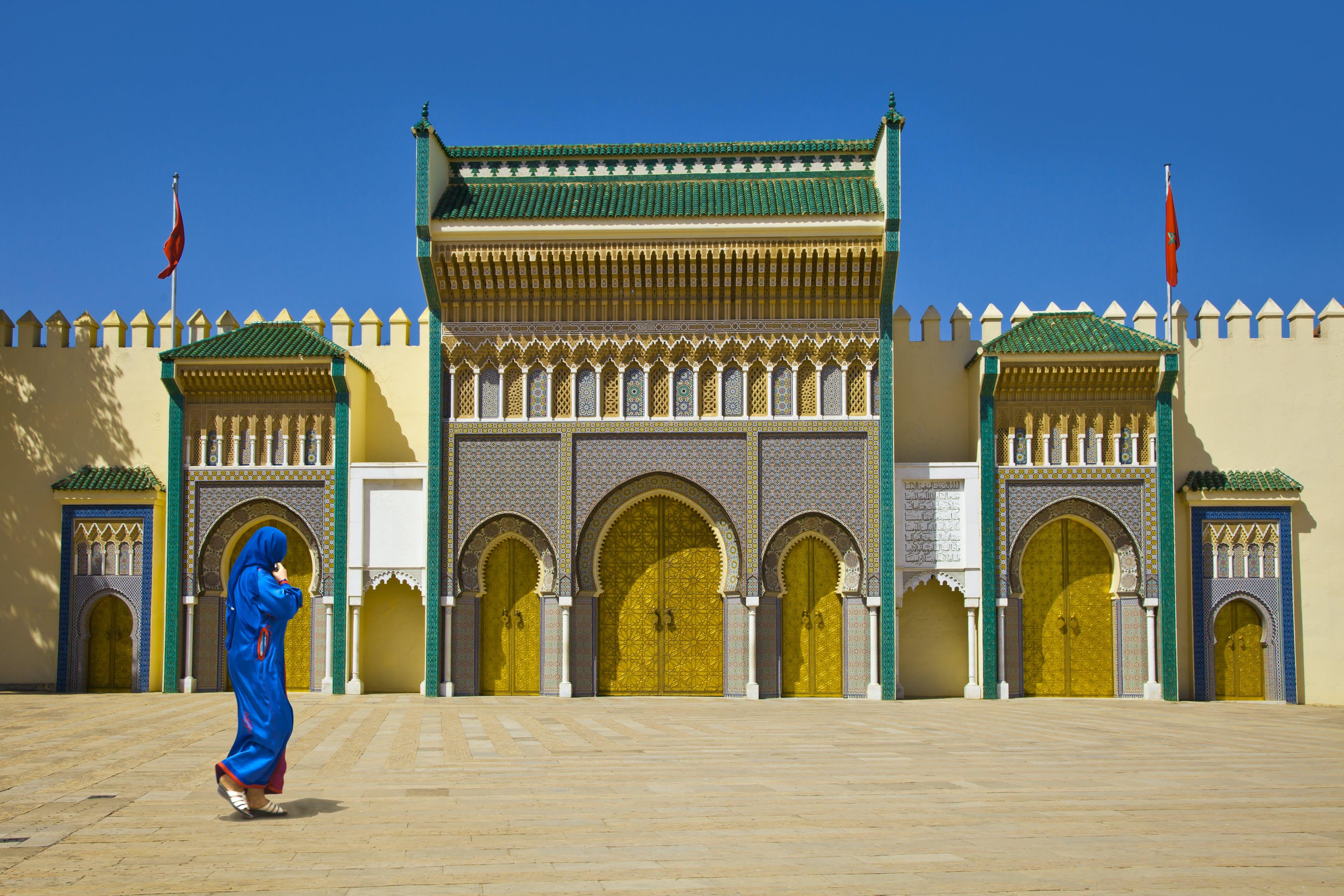 De prachtige architectuur in Fez