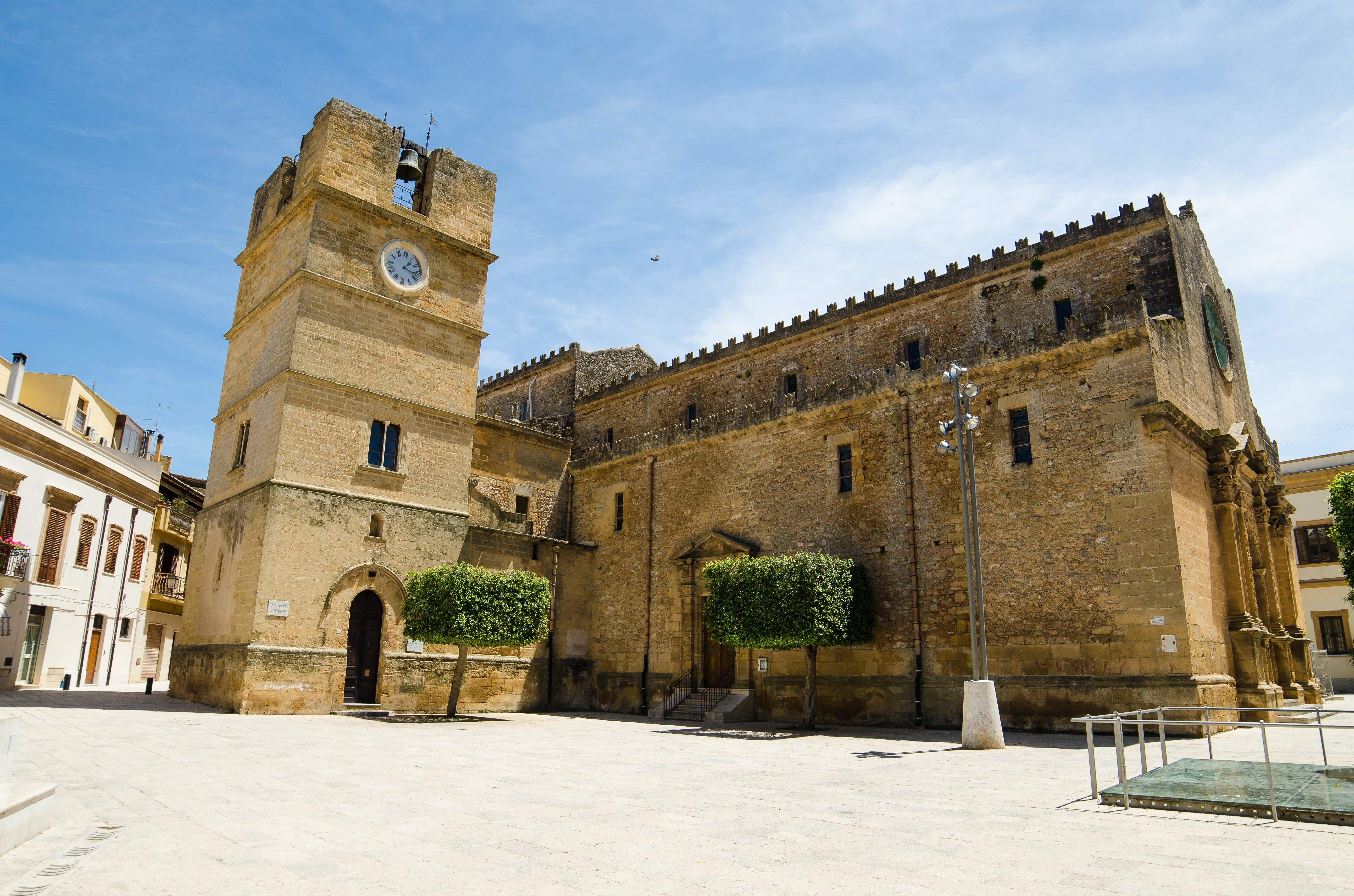 Het oude centrum van Castelvetrano