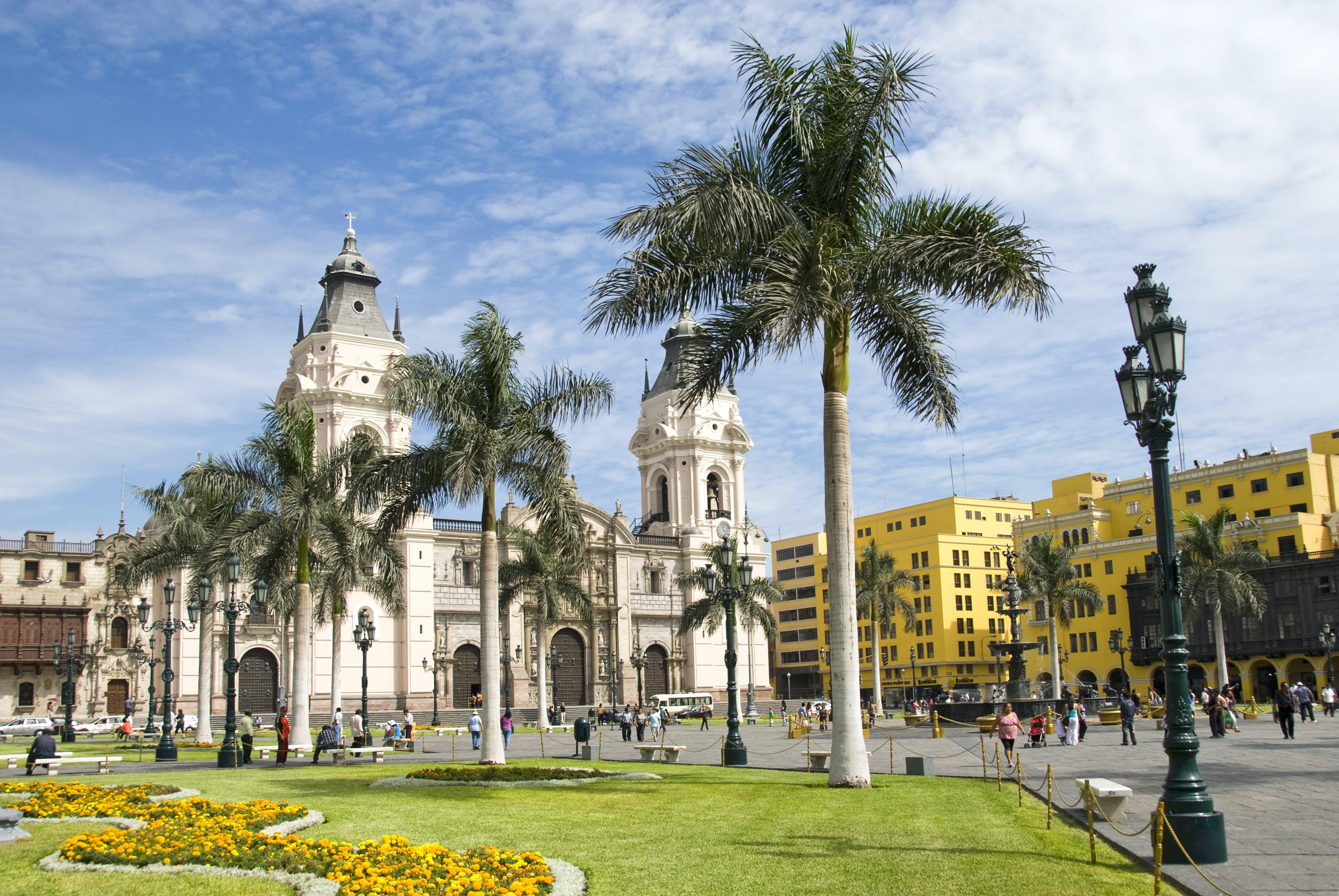 Ga lekker op pad in het centrum van Lima