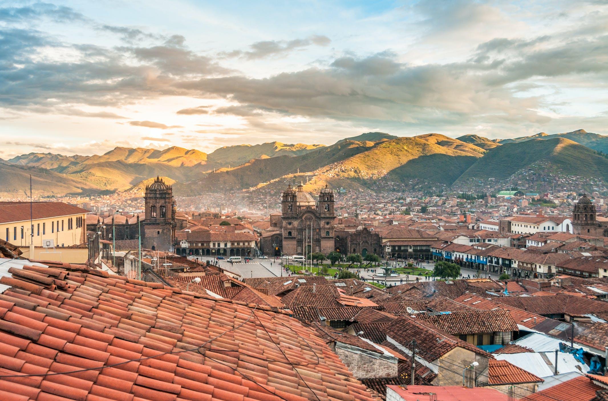 Cusco was ooit de hoofdstad van het Inca koninkrijk