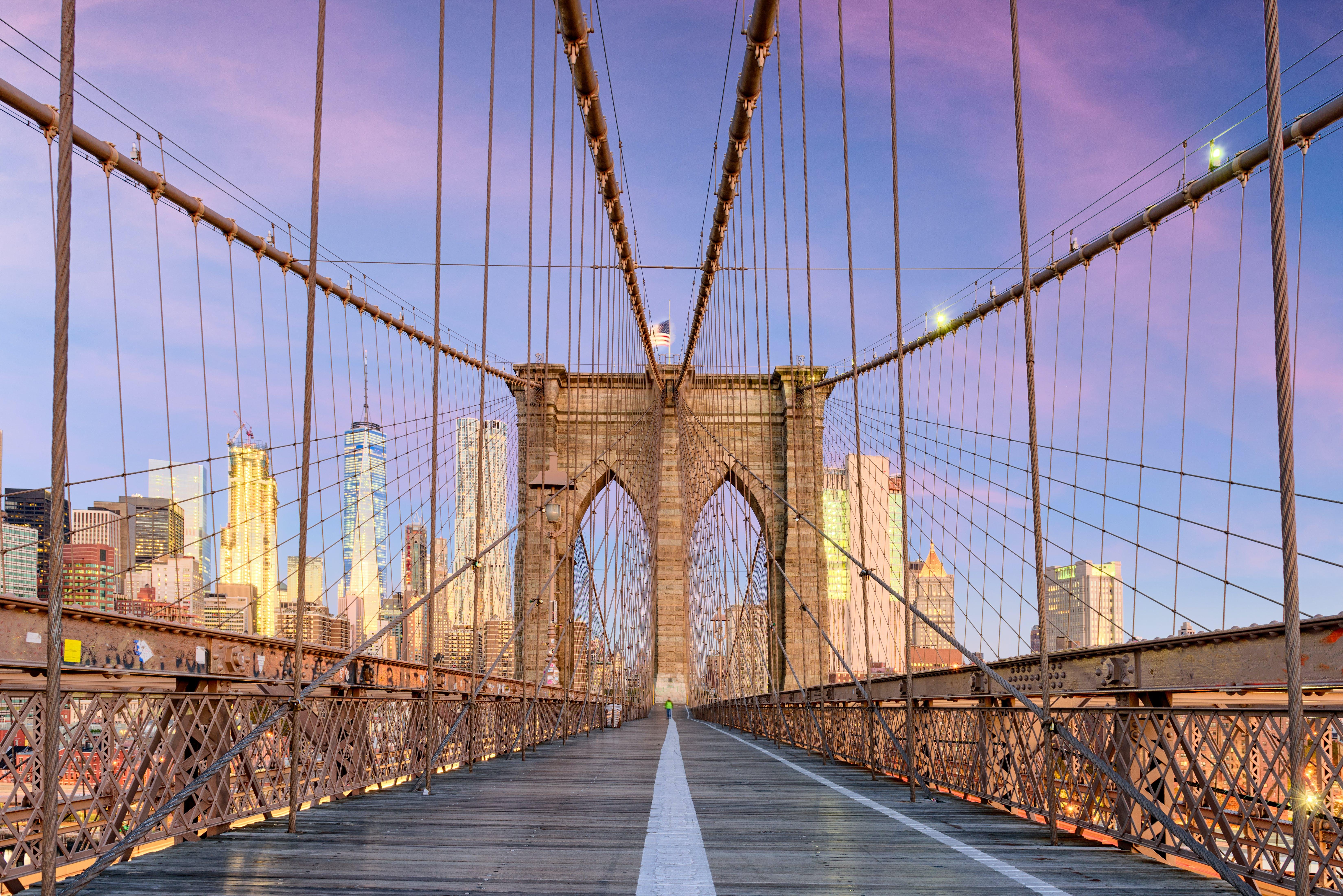 Brooklyn Bridge, de verbinding tussen Manhattan en Brooklyn