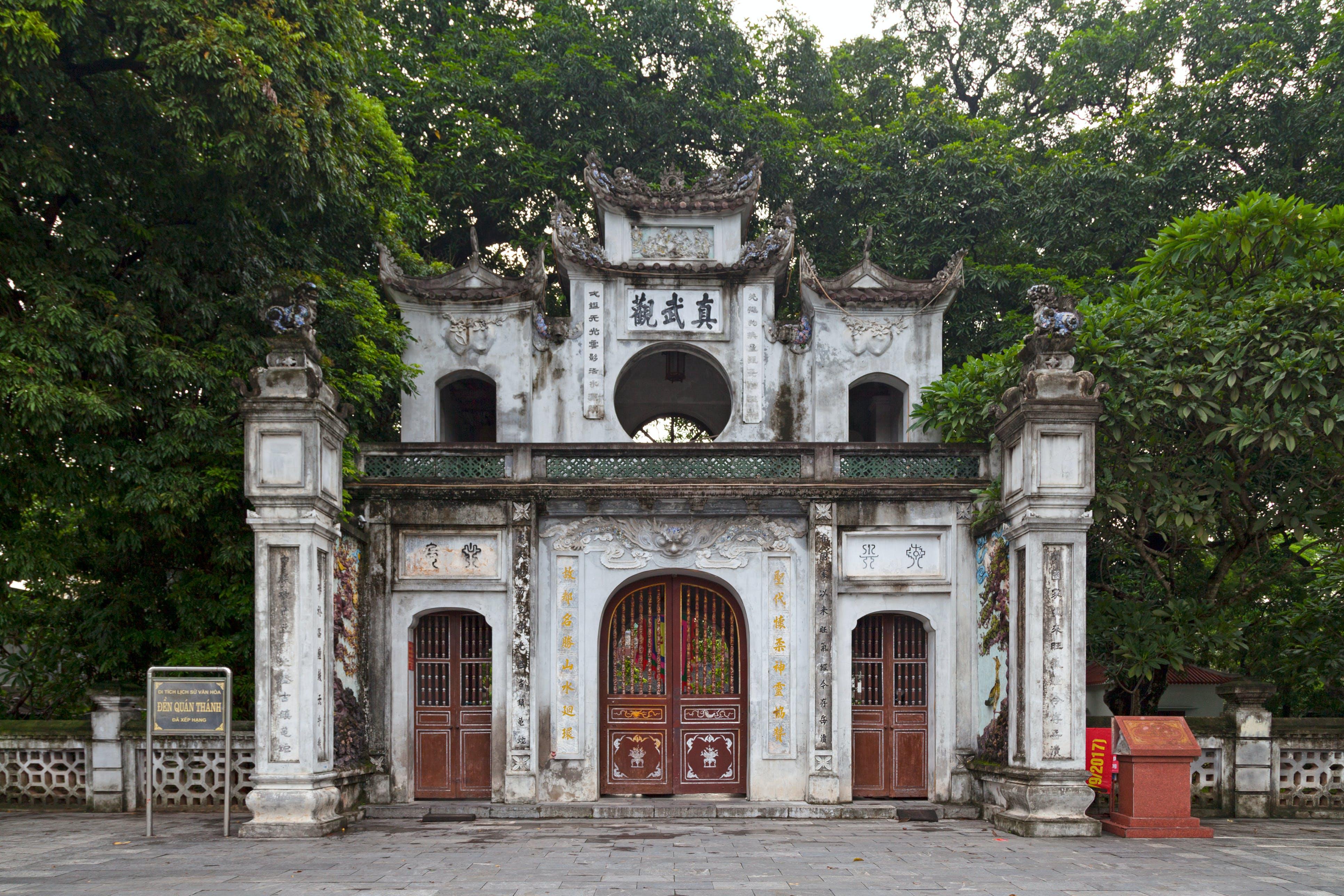 Quan Thahn tempel in Hanoi