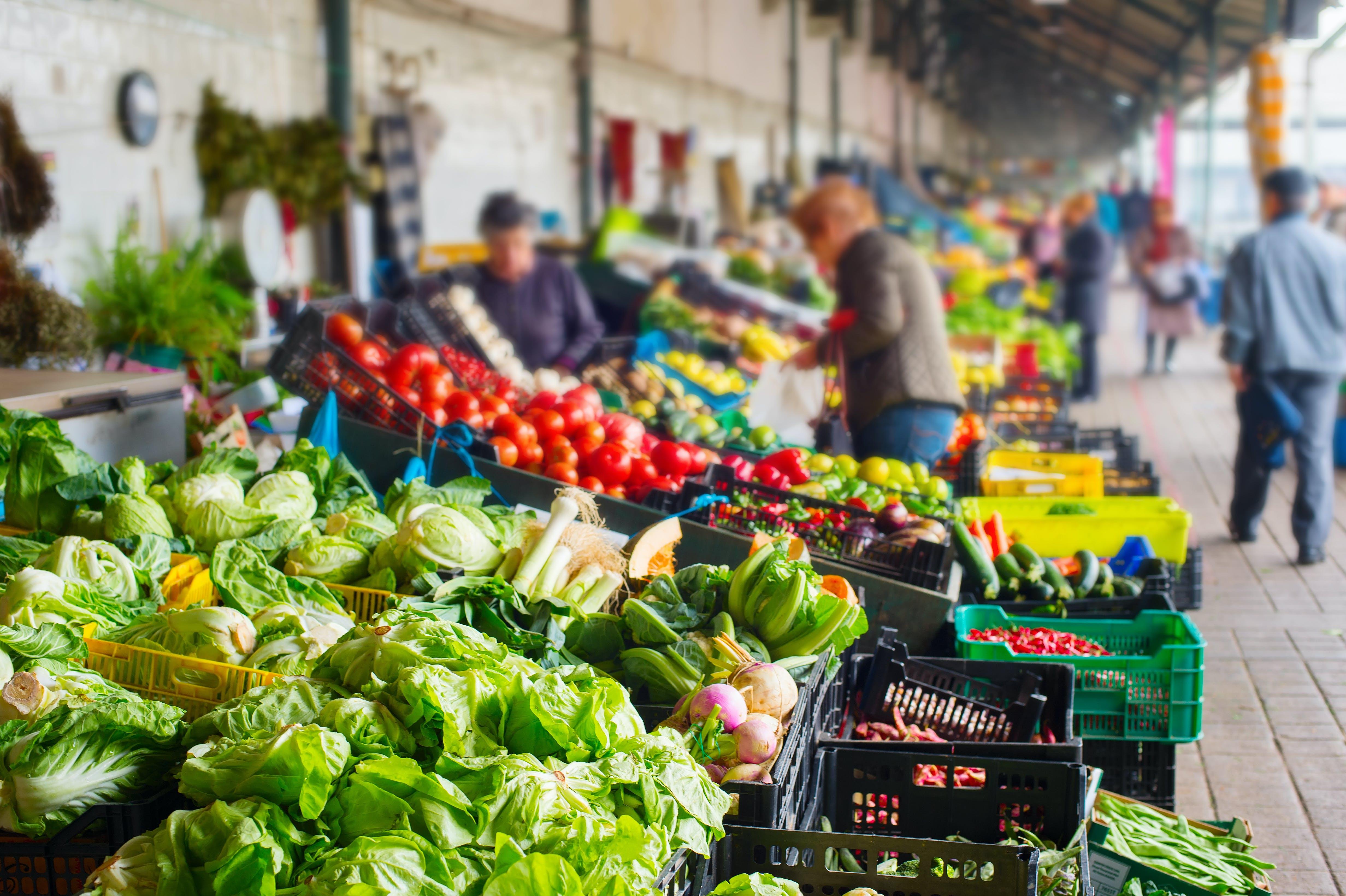 Vind de meest verse ingrediënten op de markt van Balhao