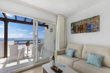 Window Lounge view, One Bedroom suite (Junior suite), Roc Illetas, Mallorca