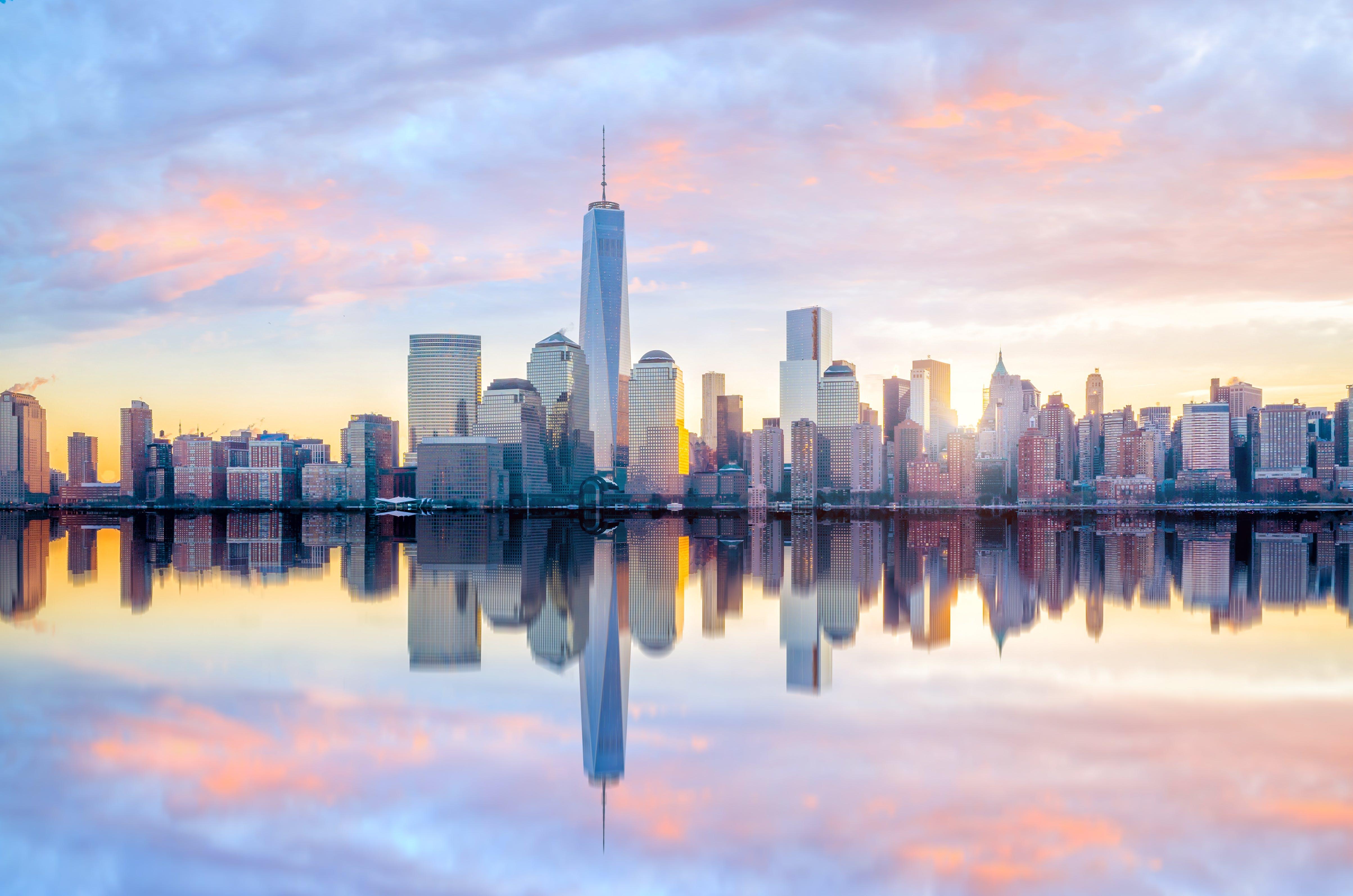Uitzicht over Manhattan