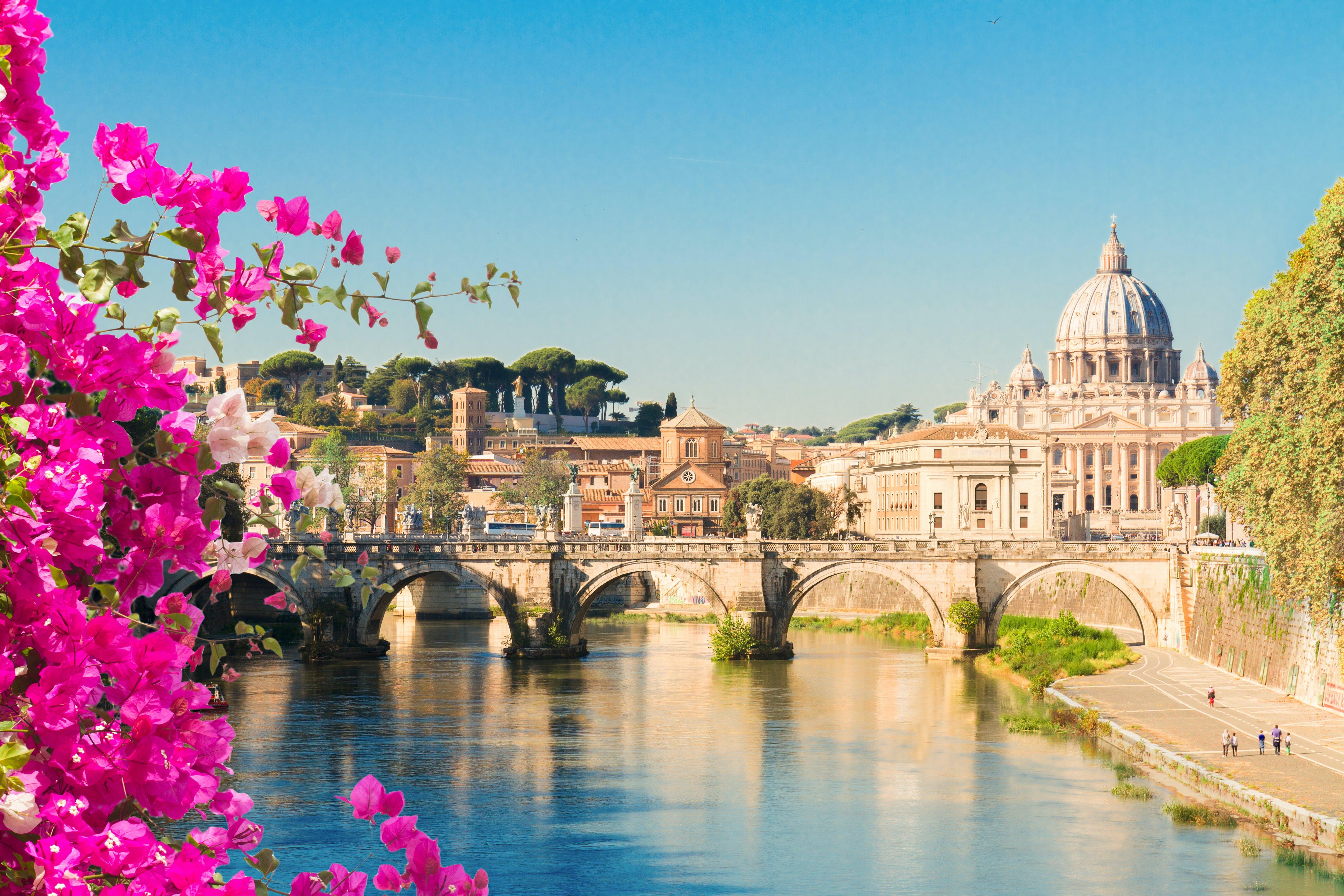 Ervaar een andere kant van Rome terwijl je langs de mooiste bezienswaardigheden fietst