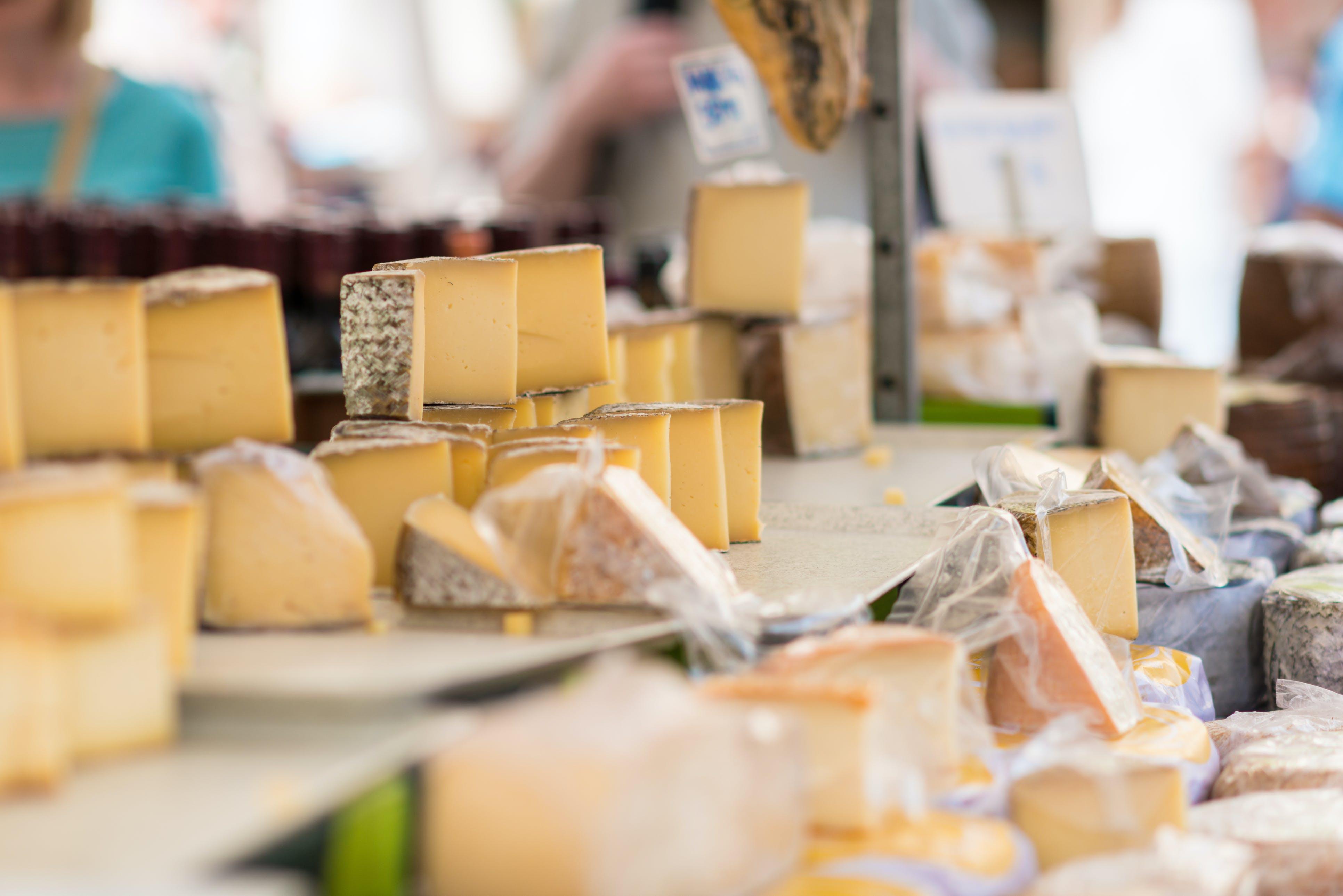 Koop heerlijke Italiaanse kazen op de lokale marktjes