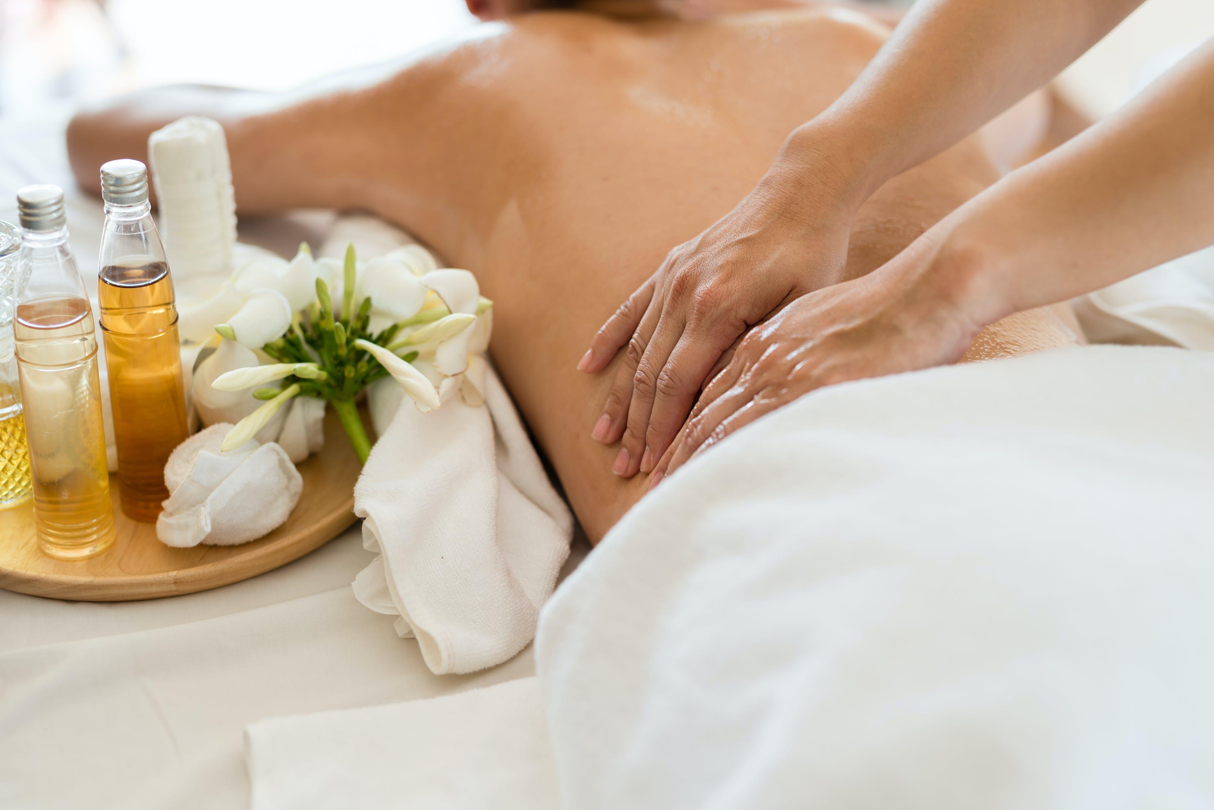 Laat je verwennen met een massage