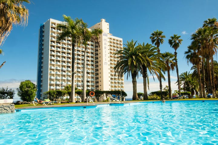 Outside pool, Maritim Hotel Tenerife