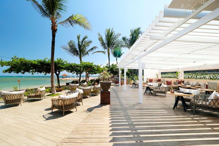 Pier Eight Beach Bar at Fairmont Sanur Beach Bali
