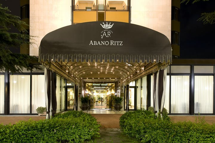 Abano Ritz Hotel Terme - new - entrance